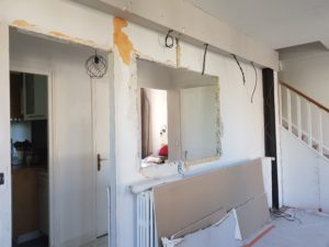Travaux d'aménagement d'intérieur - un courtier en travaux pour votre salon