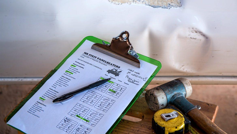Travaux de rénovation checklist