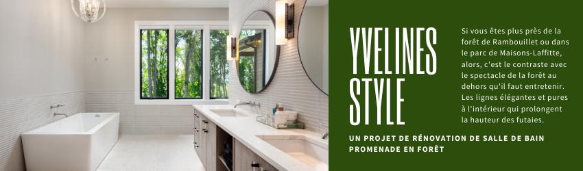 renovation salle de bain Yvelines style
