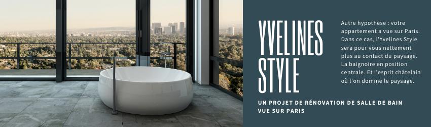 rénovation de salle de bains en Yvelines