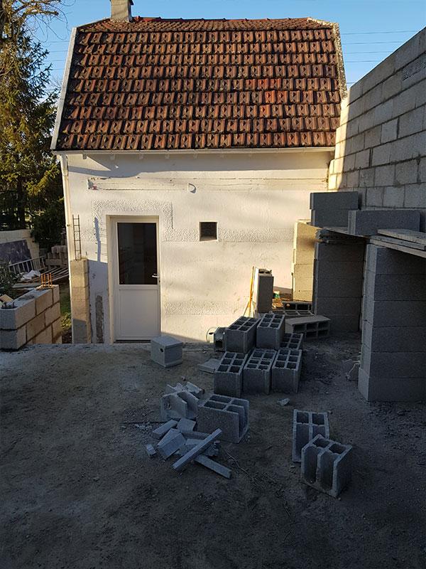 agrandissement maison avant-après Landes 40