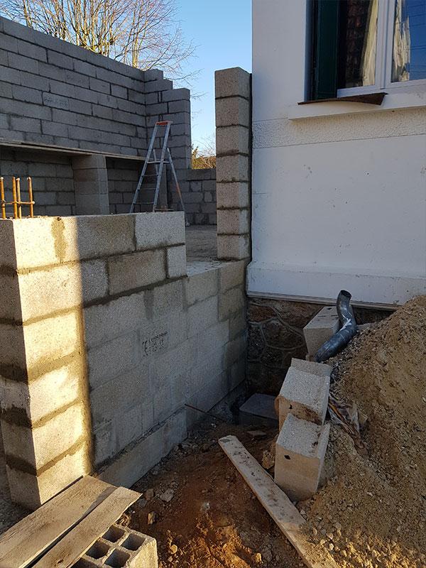 agrandissement maison garage Tarnos 40