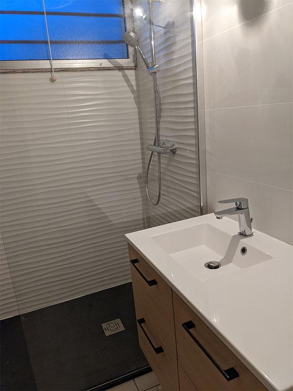 artisan renovation salle de bain vieux boucau Landes