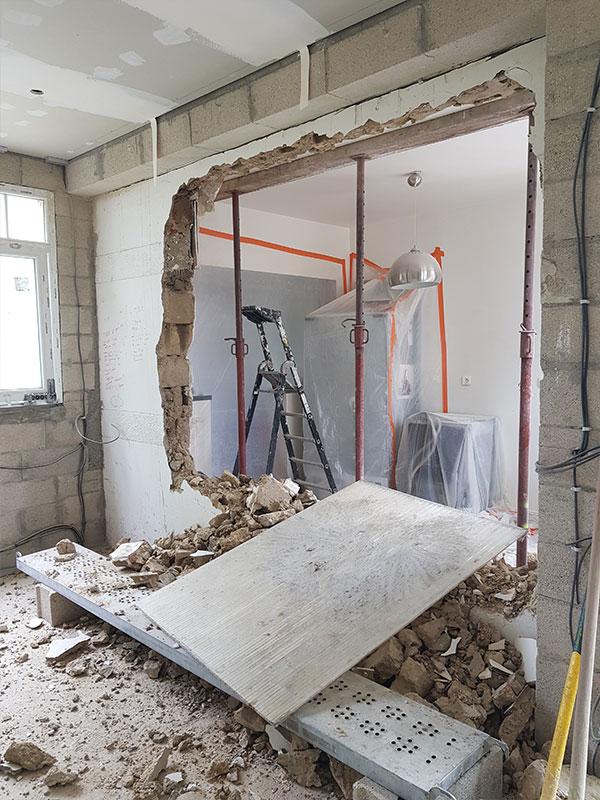 Ouvrir mur porteur Saint André de Seignanx Landes 40