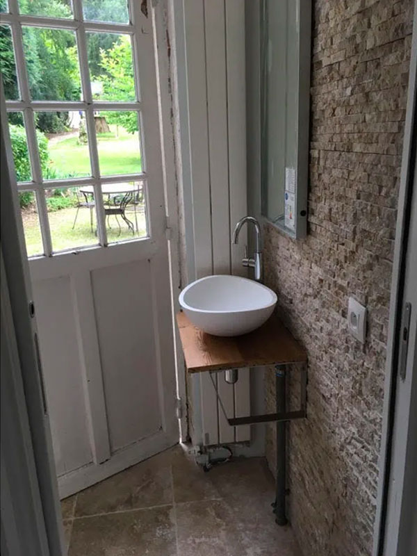 Création d'un chambre parentale avec salle de bains Labenne 40