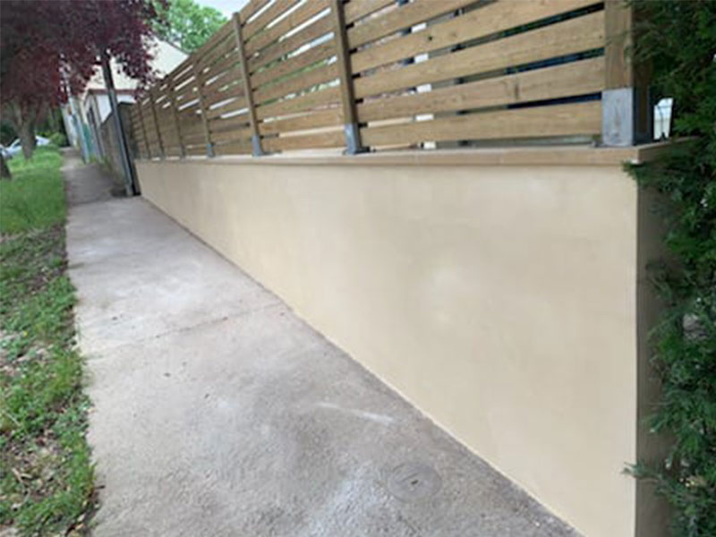 crépit mur exterieur bayonne 64