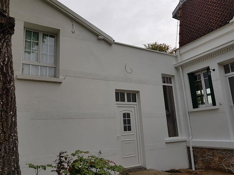 extension garage Landes 40