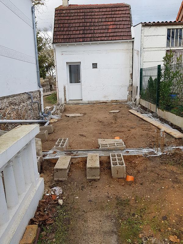 extension maison avant-après Landes 40