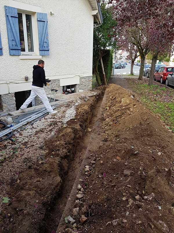 maçon réalisation d'un mur de clôture Bayonne 64