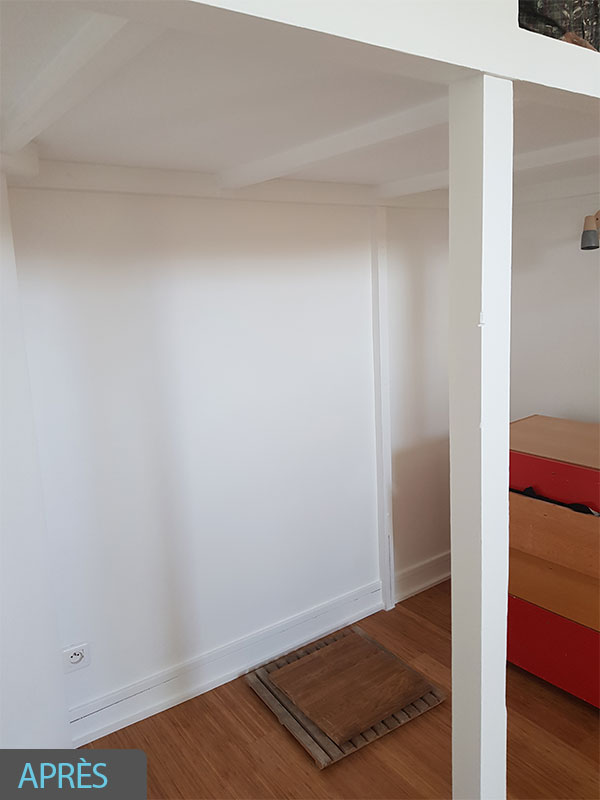 malfaçon infiltration renovation peinture mur Landes 40