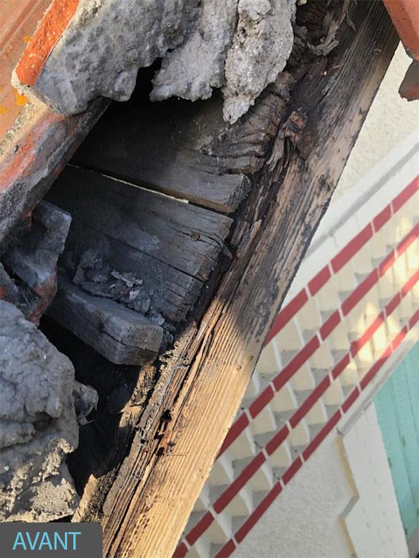 malfaçon infiltration renovation toiture landes 40