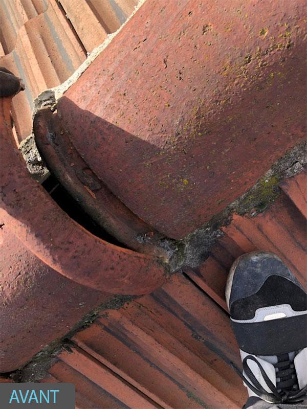 malfacon rénovation toiture Souston 40 Landes