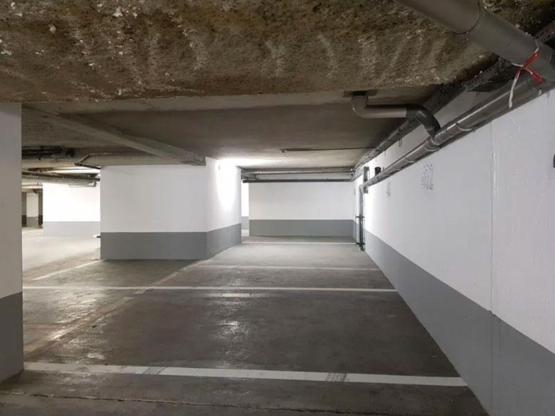 peinture et marquage emplacement parking sous sol