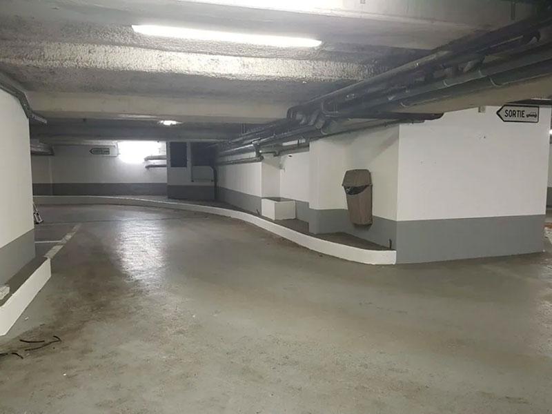 renovation peinture parking sous sol Dax