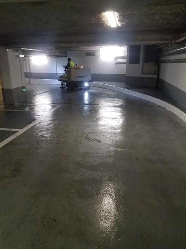 Peinture et netooyage parking Landes
