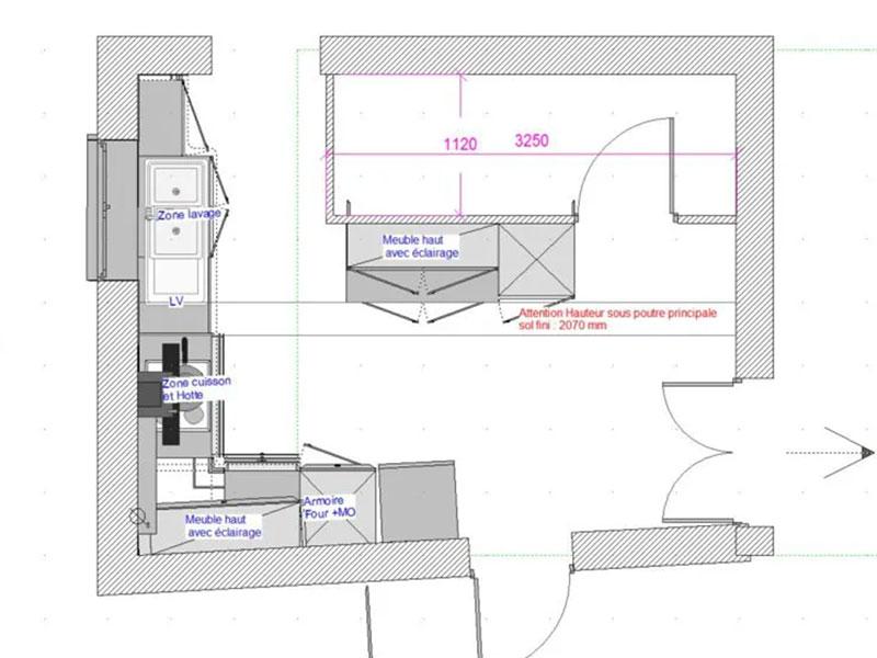 plan rénovation maison ancienne Landes Seignosse 40