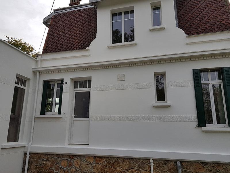 Ravalement maison Landes 40 extension maison Saint André de Seignanx