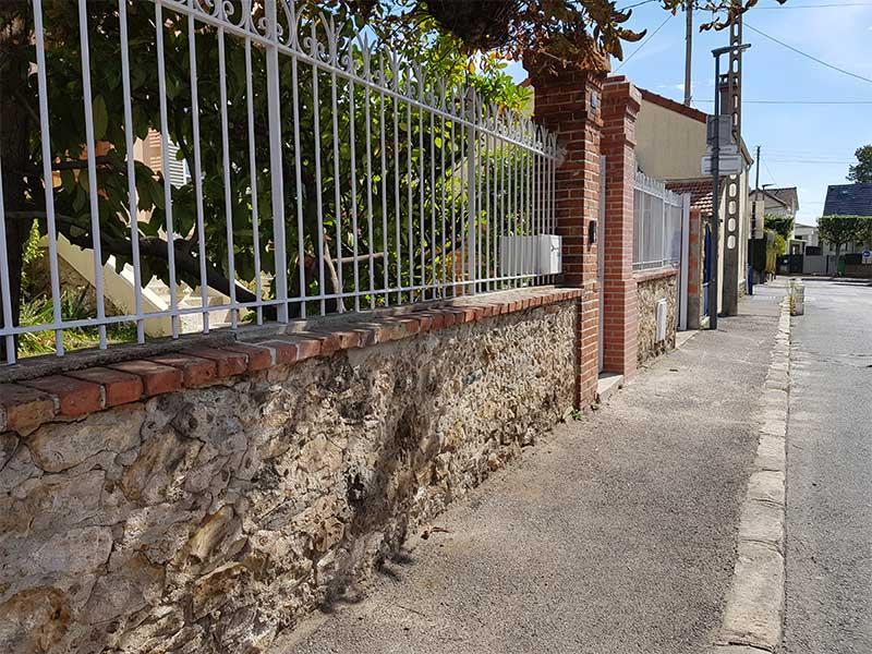 rénovation devanture maison avant après à Soustons