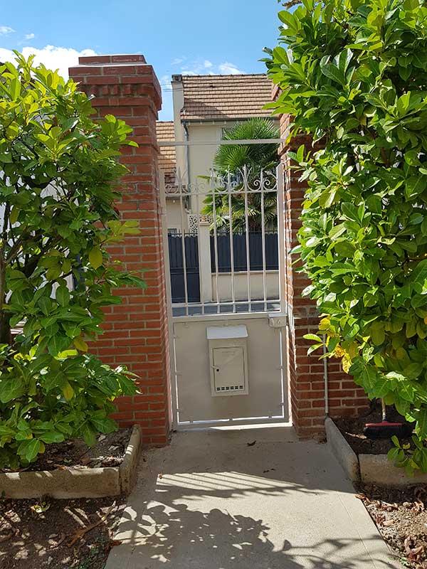 rénovation portillon et portail Soustons Landes