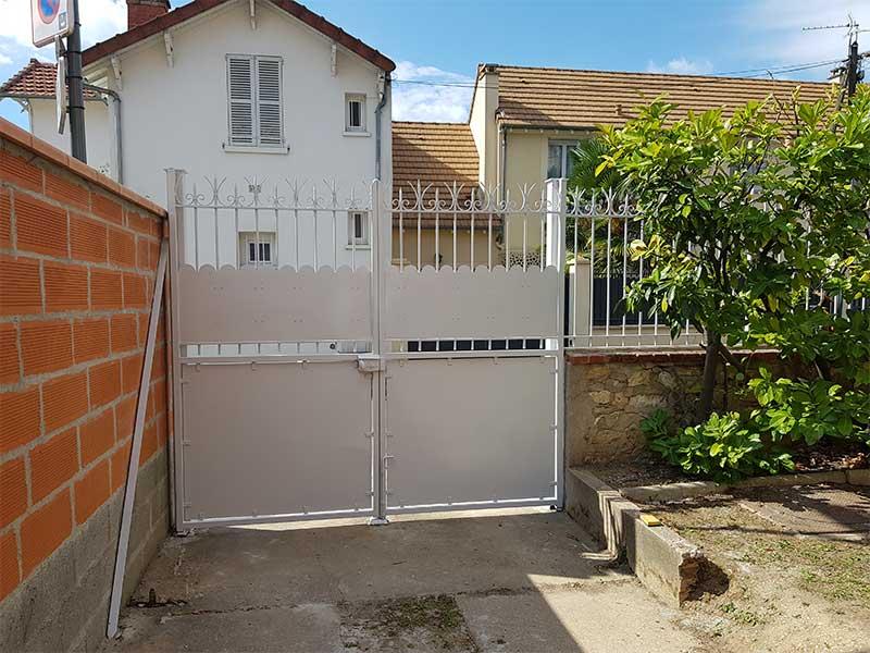 rénovation peinture portail Soustons