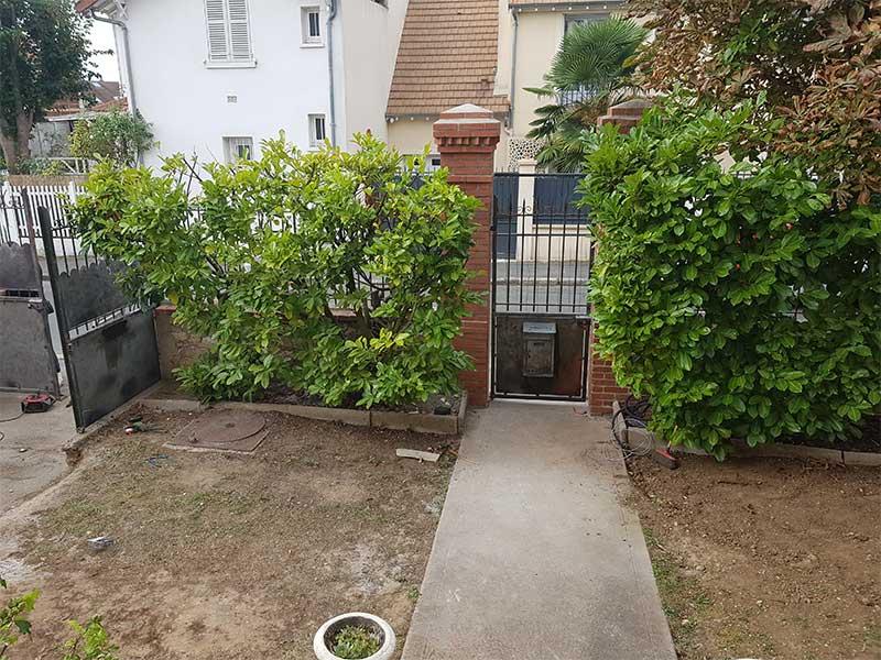 rénovation portail et cloôture maison à Soustons 40