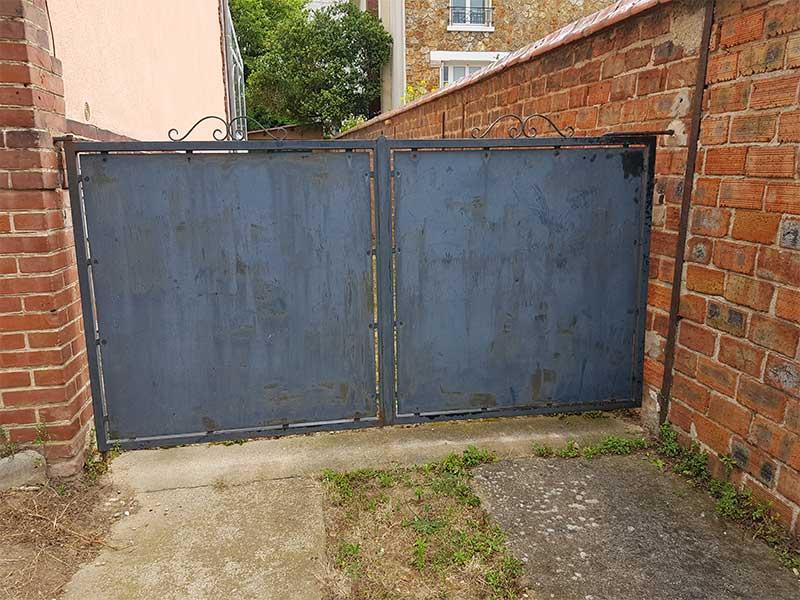 Rénovation clôture et portillon maison Soustons 40