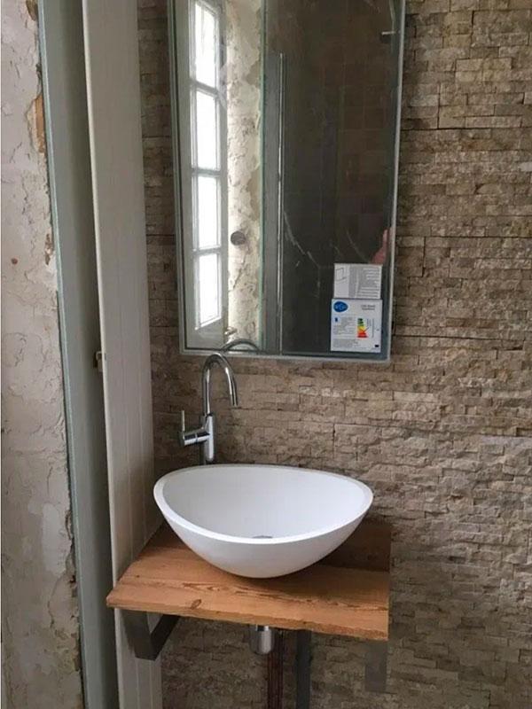 renovation salle de abin maison ancienne Landes 40