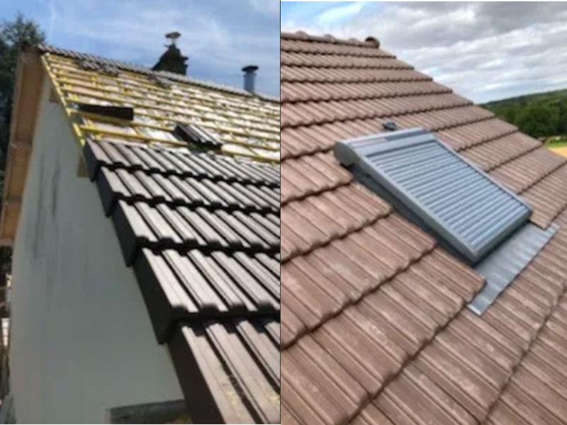 Rénovation toiture maison Landes à Tosse