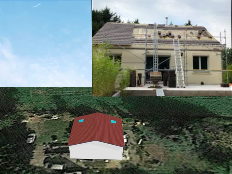Rénovation toiture charpentier à Tosse