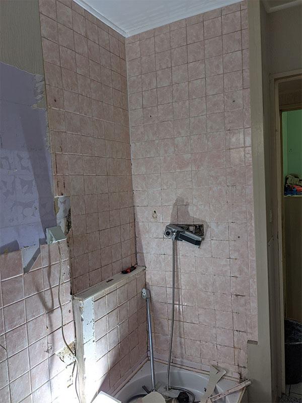 renover salle de bain Vieux boucau landes 40