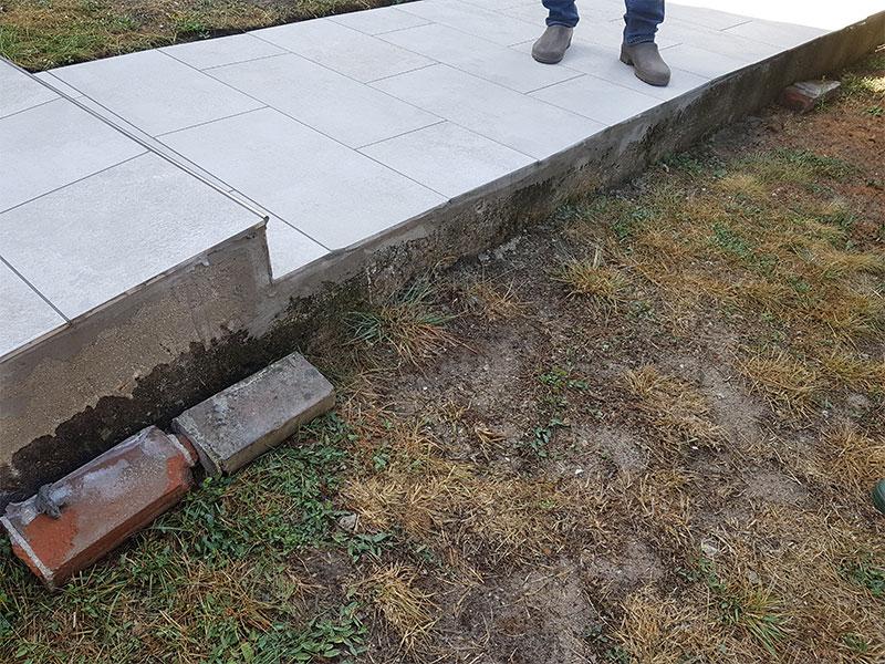 restauration terrasse Angresse 40
