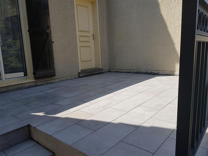 rénovation restaureation terrasse Angresse 40