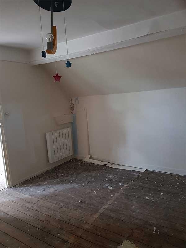 rénovation complète d'une maisons ancienne à Dax