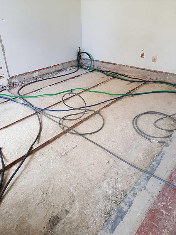 rénovation élecrtique maison ancienne Landes