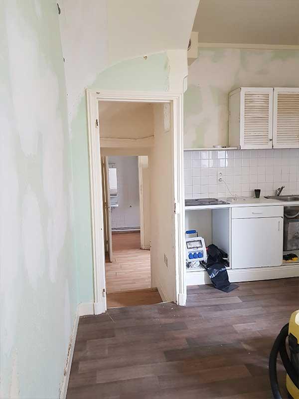 réhabilitation d'une maison ancienne à Dax