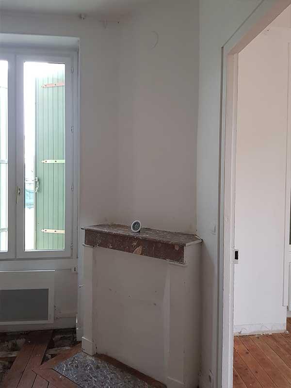 Casser une cheminée ancienne Dax 40