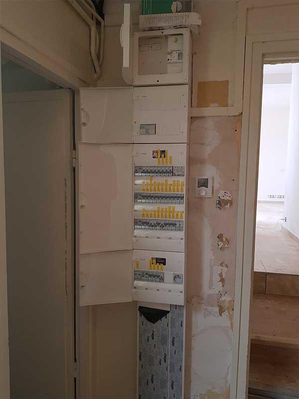 Rénovation tableau électrique maison ancienne Dax 40