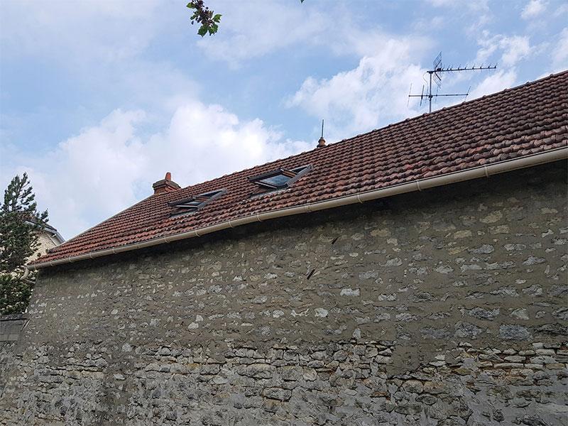 Rénovation toiture maion ancienne Landes 40