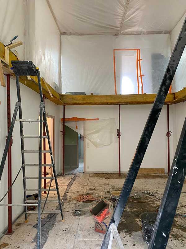 Aménagement maison et rénovation des combles à Saubion 40d'une