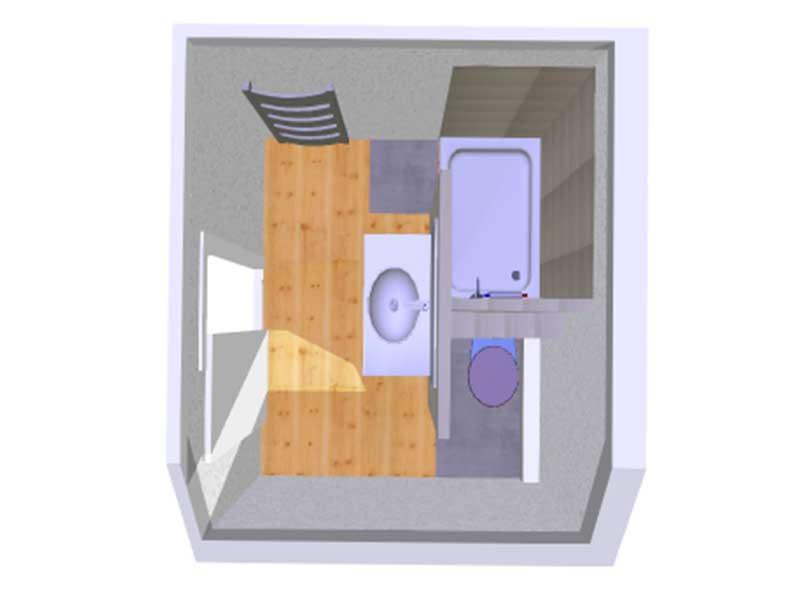 conception salle de bain à Angresse 40 Landes