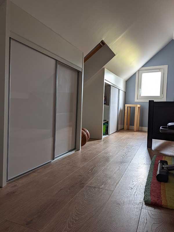 rénovation chambre à Messanges 40