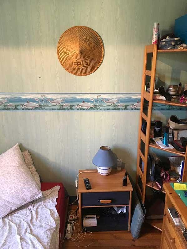 Rénovation chambre avant après à Saint-Geours-de-Maremne 40