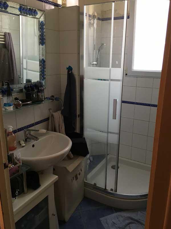 Rénovation salle de bain avant après à Saint-Geours-de-Maremne 40