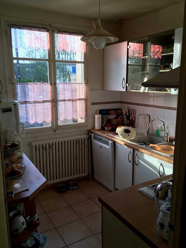 Avant après rénovation cuisine à Saint-Geours-de-Maremne 40 Landes