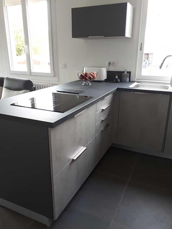 Rénovation cuisine ouverte à Saint-Geours-de-Maremne 40