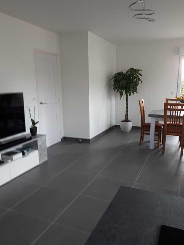 Rénovation séjour après à Saint-Geours-de-Maremne 40