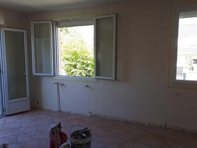 Rénovation salon à Saint-Geours-de-Maremne 40