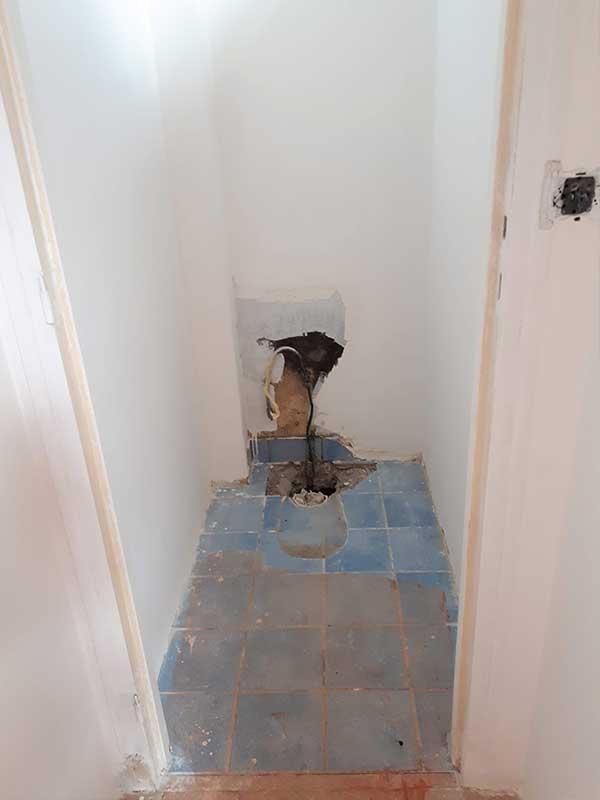 rénovation toilettes à Saint-Geours-de-Maremne 40