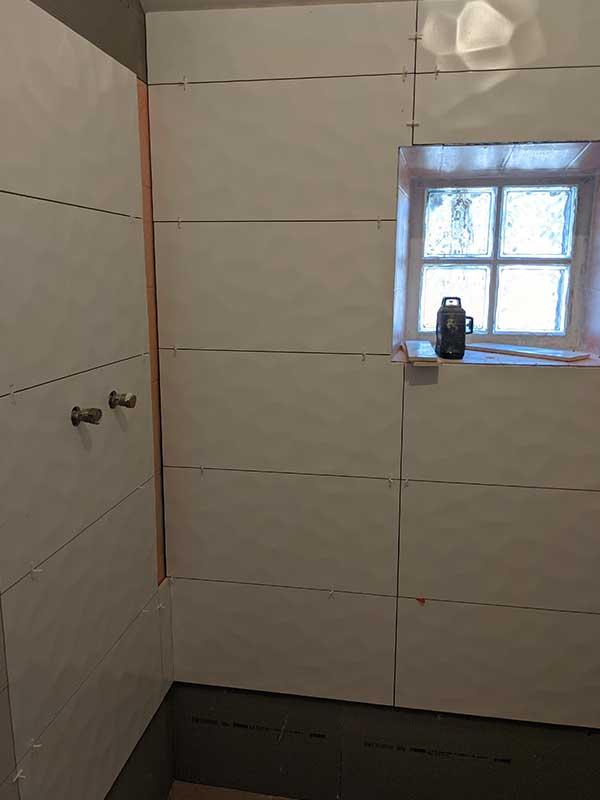 trvauax salle de bain rénovation à Messanges 40
